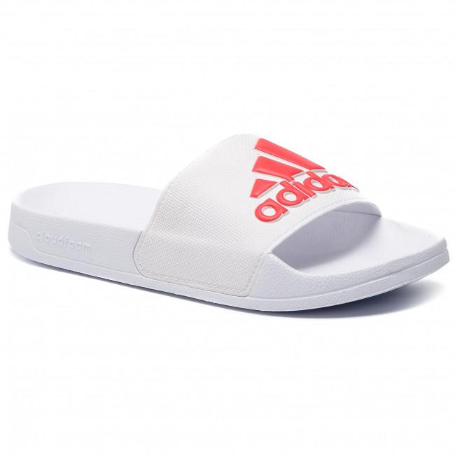 03bafd1ab Slides adidas - adilette Shower F34767 Ftwwht Actred Ftwwht - Casual ...