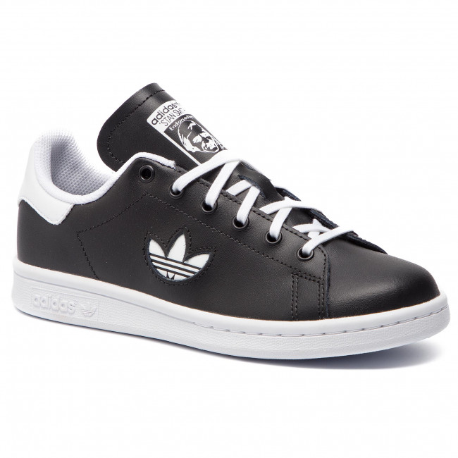 033060be1abf7 Shoes adidas - Stan Smith J CG6669 Cblack Ftwwht Ftwwht - Sneakers ...