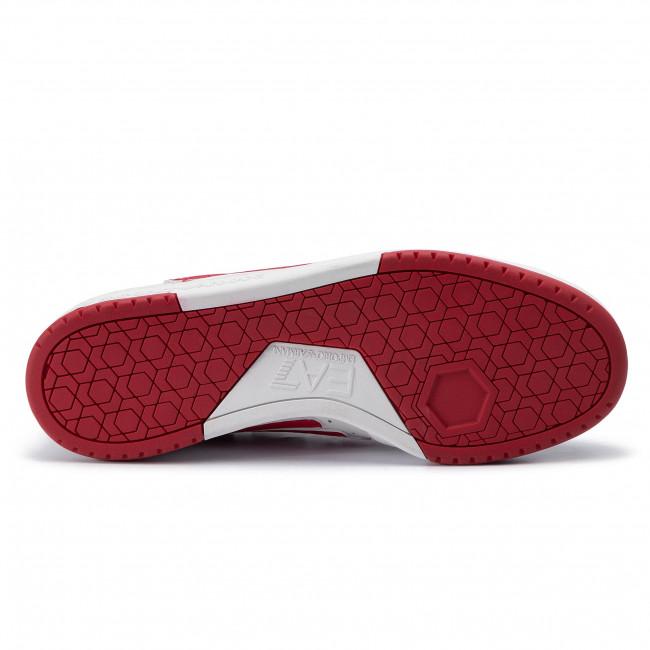 Armani Red Whitetango X8x043 Sneakers Emporio Xk075 Ea7 A041 mNn08w
