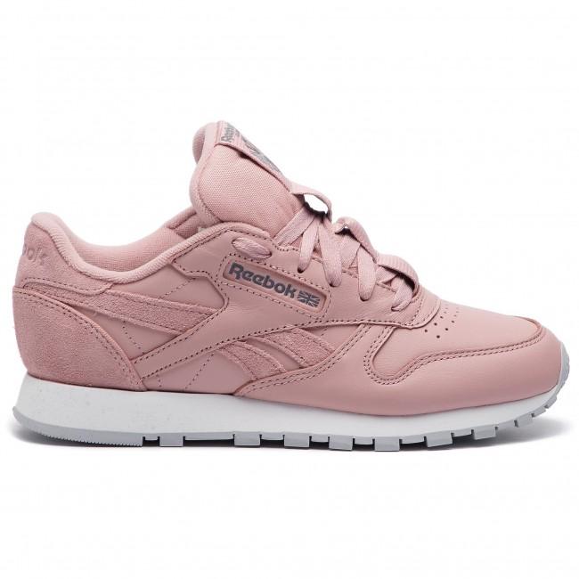 Shoes Reebok Cl Lthr CN7024 Smoky RoseCold GreyWht