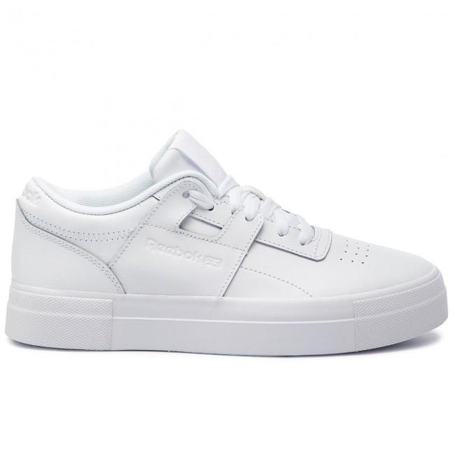 d51dd1507e852 Shoes Reebok - Workout Lo Fvs CN6890 Basic White Skull Grey ...