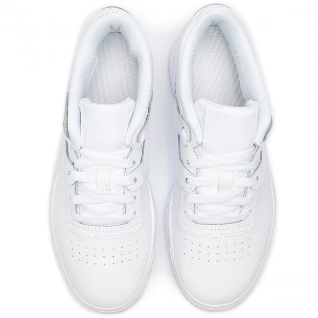 b92ad77e93a88 Shoes Reebok - Workout Lo Fvs CN6890 Basic White Skull Grey - Sneakers - Low  shoes - Women s shoes - www.efootwear.eu