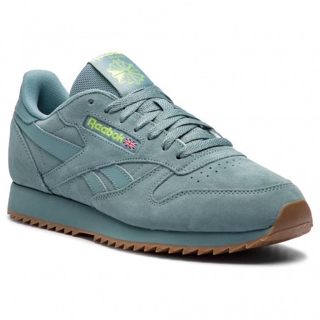 c425d6f71d0 Shoes Reebok - Cl Leather Mu DV3934 Teal Fog Neon Lime Lee ...