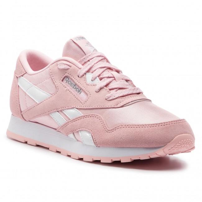 c95c0325584 Shoes Reebok - Cl Nylon DV4410 Practical Pink White Silv - Sneakers ...