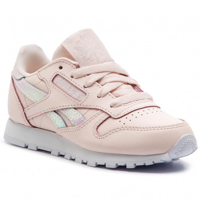 b4c265a53b2 Shoes Reebok - Classic Leather DV5404 Pale Pink White - Laced shoes ...