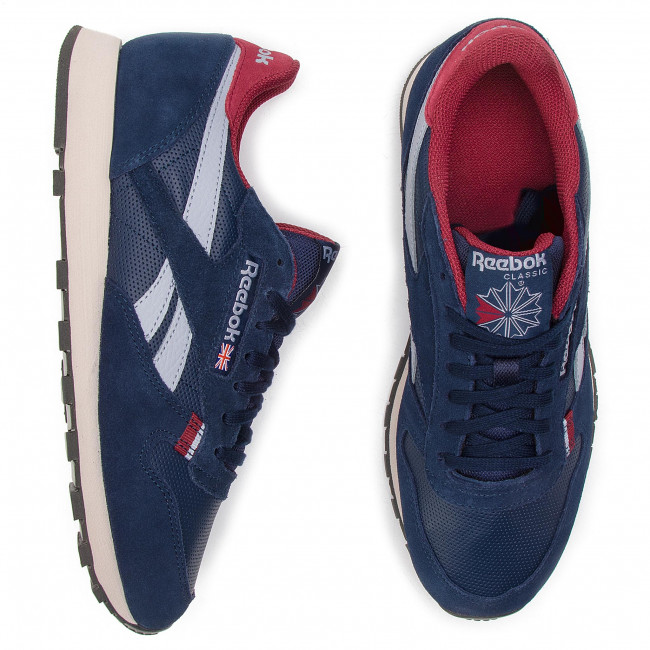 c27e808e4cb2 Shoes Reebok - CL Leather Mu CN7178 Navy Red Stucco Grey - Sneakers - Low  shoes - Men s shoes - www.efootwear.eu