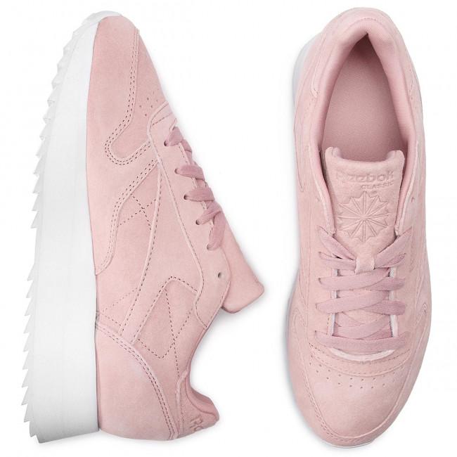 6138d1110c3 Shoes Reebok - Cl Lthr Double DV3628 Smoky Rose/White - Sneakers - Low shoes  - Women's shoes - efootwear.eu