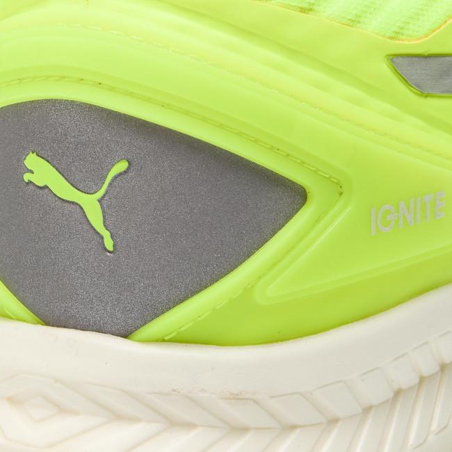 Shoes PUMA Ignite v2 Pwrcool Wn's 188614 02 Safety YellowSilverWhite