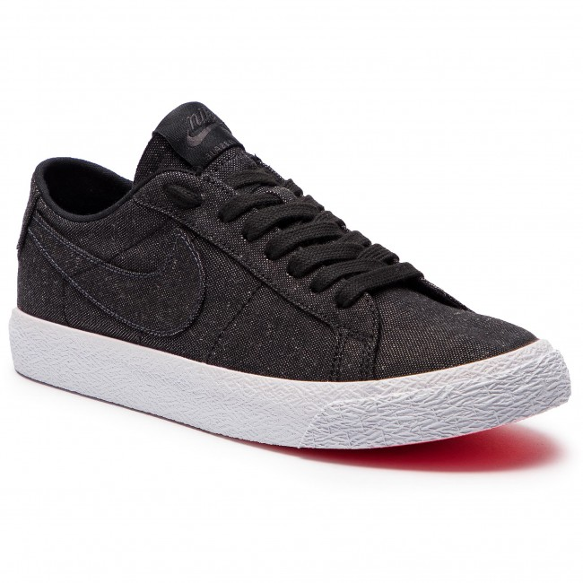 premium selection b5885 cd19b Shoes NIKE. Sb Zoom Blazer Low Cnvs Decon AH3370 001 Black Black Anthracite