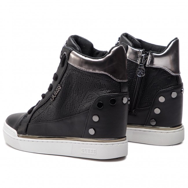 a7ce2ae8309d8 Sneakers GUESS - Finly FL5FNL FAL12 BLACK - Sneakers - Low shoes ...
