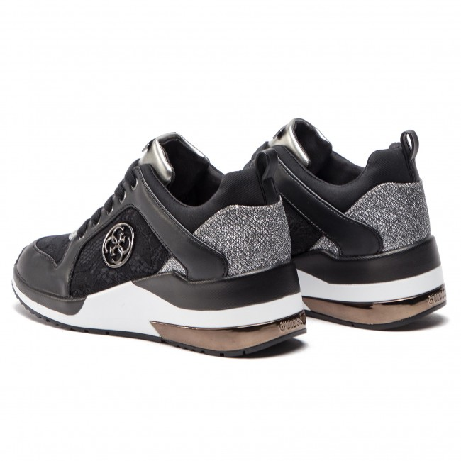 17bcf86c5 Sneakers GUESS - Jaryd FL5JAR LAC12 BLACK - Sneakers - Low shoes ...