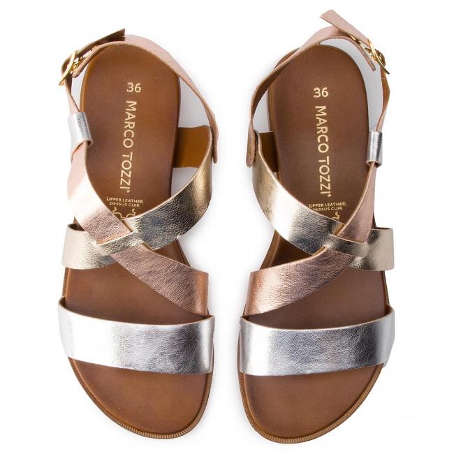 Sandals MARCO TOZZI 2 28142 22 Silver Comb 948