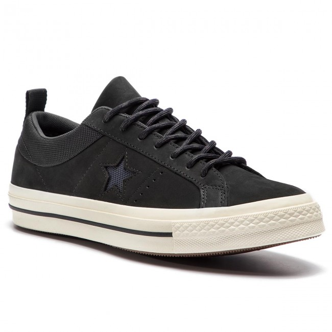 e0db686a2c926 Sneakers CONVERSE - One Star Ox 162545C Black Almost Black Black ...