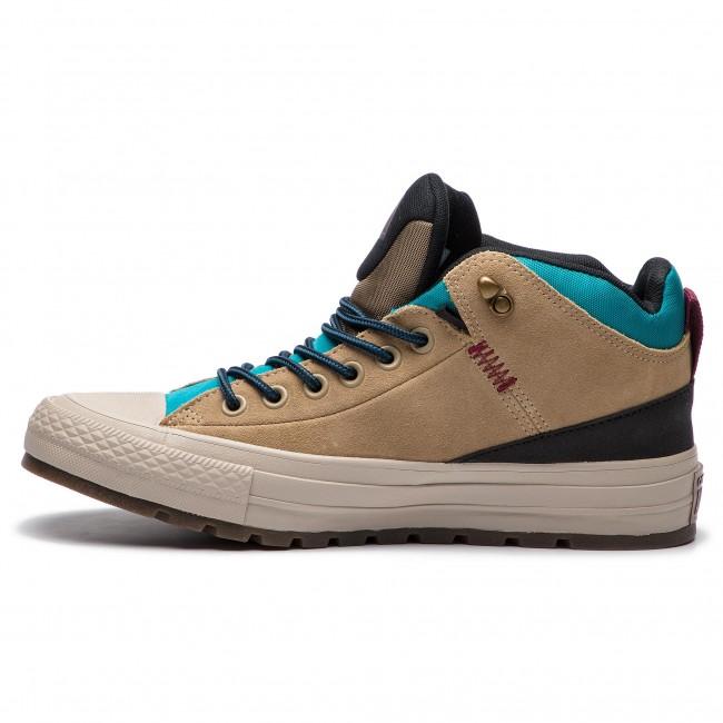 Zapatillas CONVERSE Ctas Street Boot Hi 162359C KhakiBlackRapid Teal