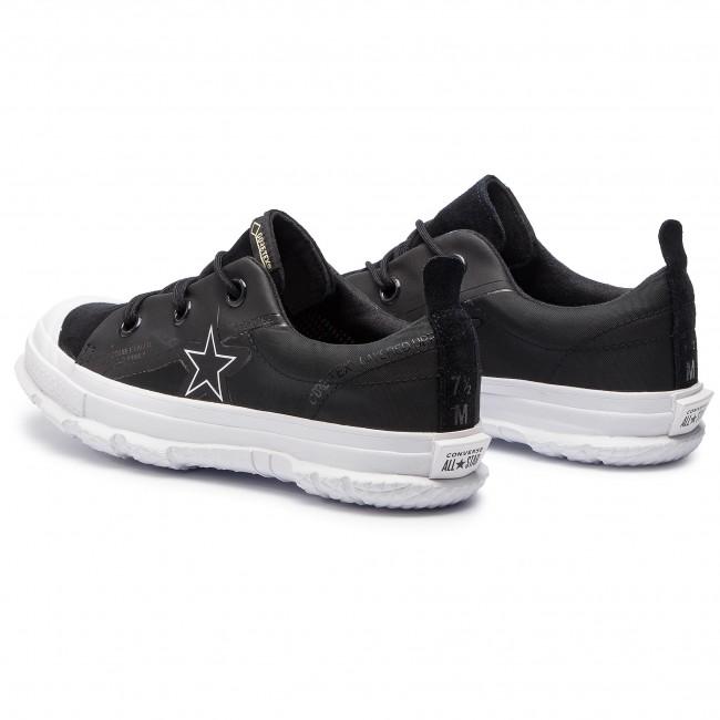 9d40e7ca9da981 Sneakers CONVERSE - One Star Mc18 Ox GORE-TEX 163178C Black White White