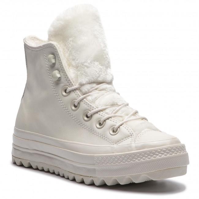 91e9e0596c3b4e Sneakers CONVERSE - Ctas Lift Ripple Hi 562423C Vintage White ...