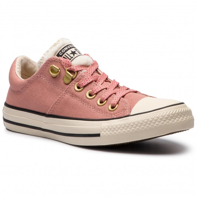 edb2bf487ef8a4 Sneakers CONVERSE. Ctas Madison Ox 562484C Rust Pink Natural Ivory Black