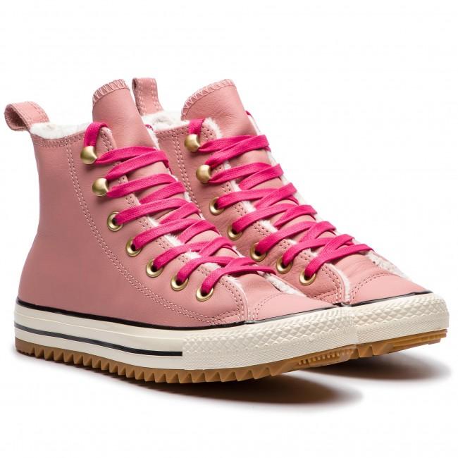 Sneakers CONVERSE Ctas Hiker Boot Hi 162477C Rust Pink