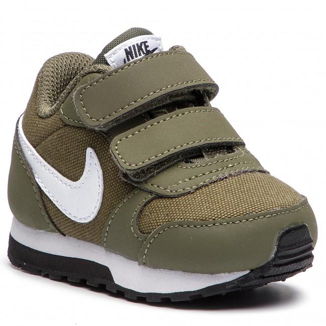 new arrival 7e873 bf9d1 Shoes NIKE - Md Runner 2 (TDV) 806255 201 Medium Olive White Black