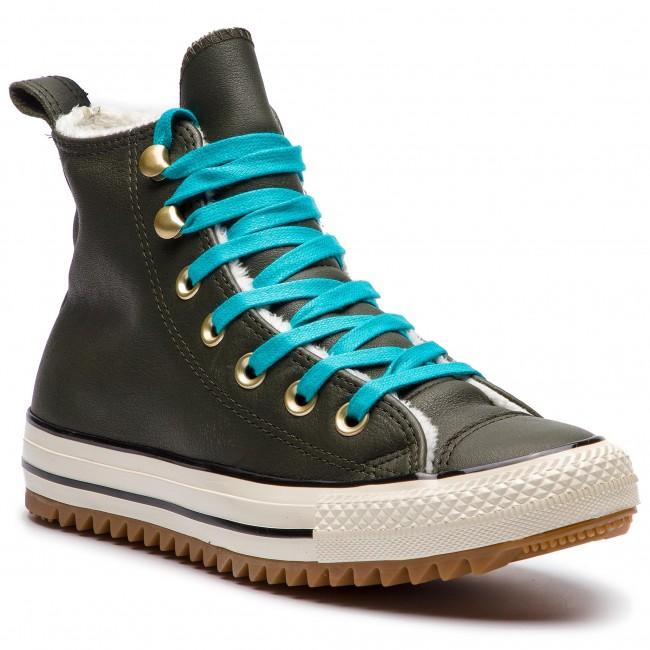 162478C Sneakers CONVERSE Boot Hiker Ctas Hi Utility GreenRapid 6C4CXqrw