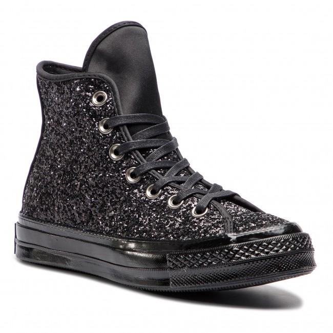 Sneakers CONVERSE Chuck 70 Hi 162471C BlackBlackBlack