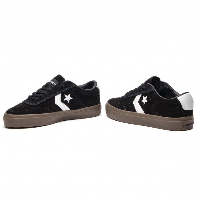 Sneakers CONVERSE - Courtland Ox 162570C Black White Brown ... 2106ee9a1d