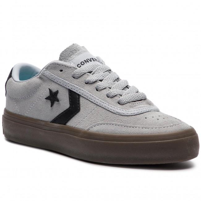 Sneakers CONVERSE - Courtlandt Ox 162571C Wolf Grey Black Brown ... 449b6530d3