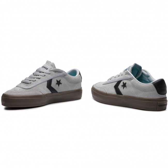 6105d930888d Sneakers CONVERSE - Courtlandt Ox 162571C Wolf Grey Black Brown ...