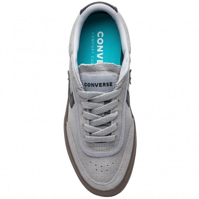 9a9719696467 Sneakers CONVERSE - Courtlandt Ox 162571C Wolf Grey Black Brown - Sneakers  - Low shoes - Women s shoes - www.efootwear.eu