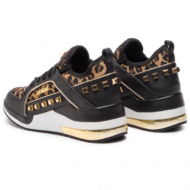 Sneakers GUESS shoes FL5JUL Low Women's FAP12 LEOPA Sneakers SRpSw