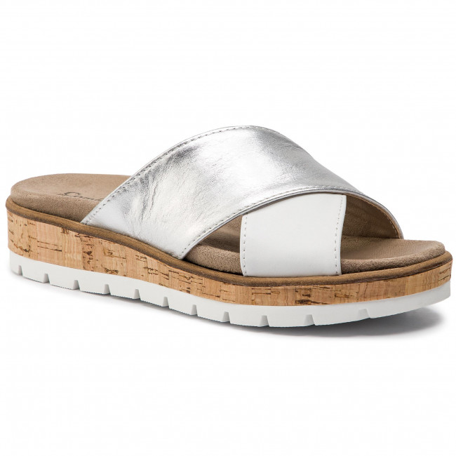 3 701383 Mules COMFORTABEL Weiss Mules Casual Slides mules 54LRjAq3