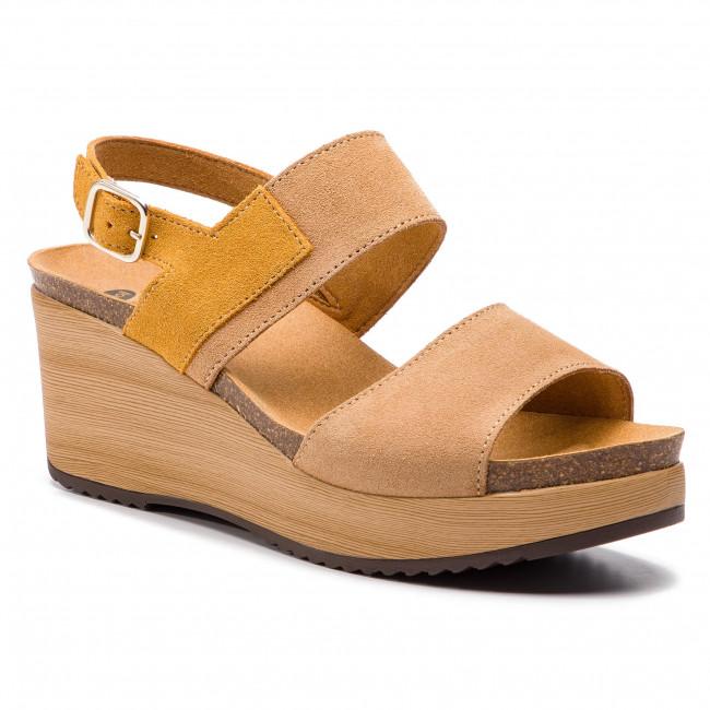 e2126032faab0d Sandals SCHOLL - Elara F27057 1013 Camel - Wedges - Mules and ...