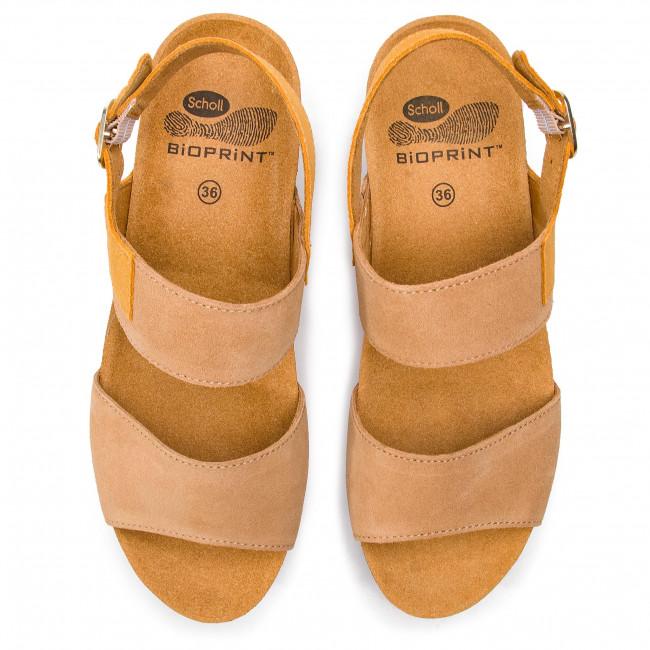 a83acb41bde14c Sandals SCHOLL - Elara F27057 1013 Camel - Wedges - Mules and sandals -  Women's shoes - www.efootwear.eu