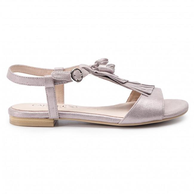 Soft Pink Caprice 28113 22 Casual 9 Sandals Met596 y6b7Yfg