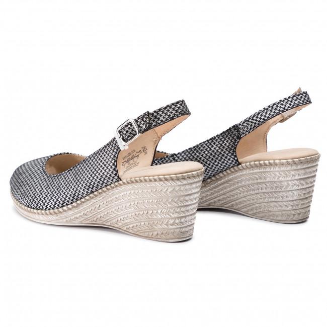 9 Mules Sandals Caprice 28350 009 Black 22 And Wedges Pepita BrxdCeWo