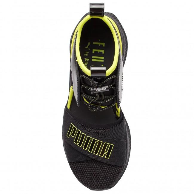 Sneakers PUMA Fenty Avid Wns 367683 01 Puma BlackLimepunchBlack