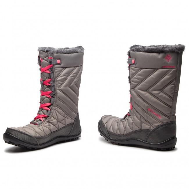 Snow Boots COLUMBIA - Youth Minx Mid III Wp Omni-Heat BY5949 Stratus Camelia 0acce332aa0