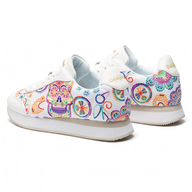 Clothing, Shoes & Accessories Desigual Sneaker Femme Shoes Galaxy Skull 19sskf08