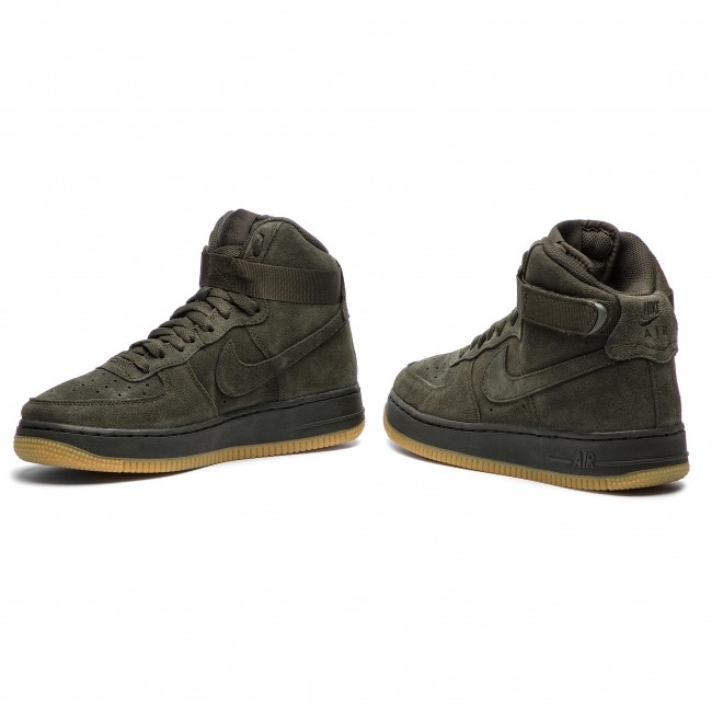 san francisco f5571 5f77d Shoes NIKE - Air Force 1 High Lv8 (GS) 807617 300 Sequoia Sequoia