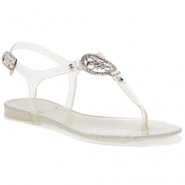 03eec203cdc8e Sandals GUESS - Jacode FL6JAC RUB21 SILVE - Casual sandals - Sandals ...