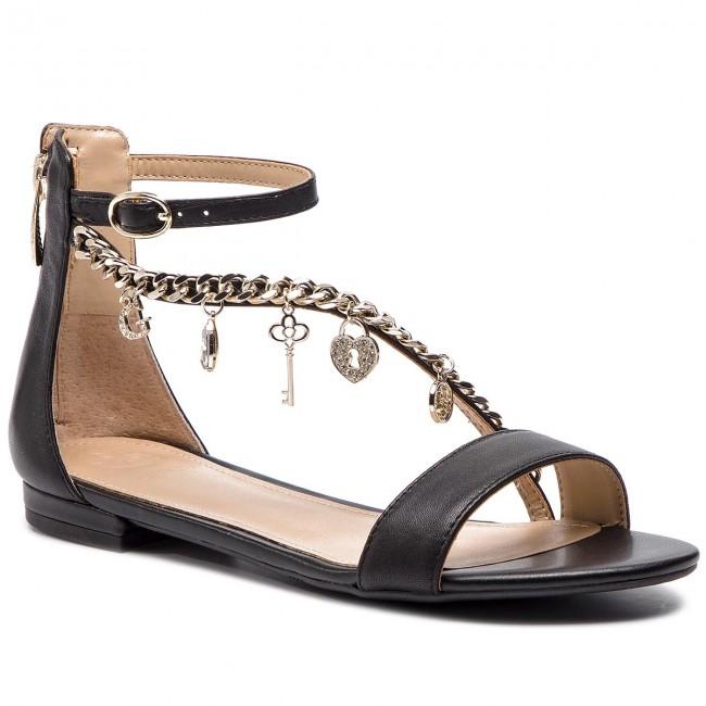 Guess Radhika Black Sandals Casual Lea03 Fl6rad qMVzGSLUp