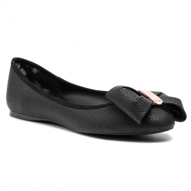 104d537f0be0 Flats TED BAKER - Imme 4 9-18208 Black - Ballerina shoes - Low shoes ...