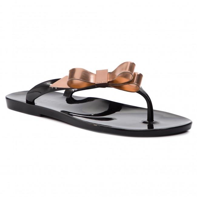 75039ee7a241 Slides TED BAKER - Szuszie 9-18178 Black Rose Gold - Flip-flops ...