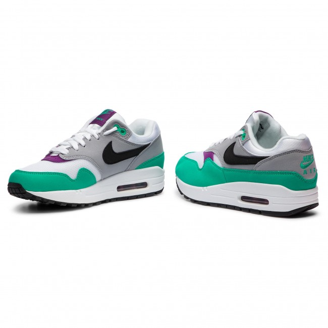big sale 39bc3 42977 Shoes NIKE - Air Max 1 319986 115 White Black Wolf Grey