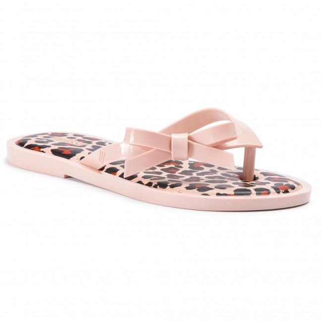 232b60e08 Slides MELISSA - Flip Flop Animal Print 32651 Light Pink Black 53478 ...