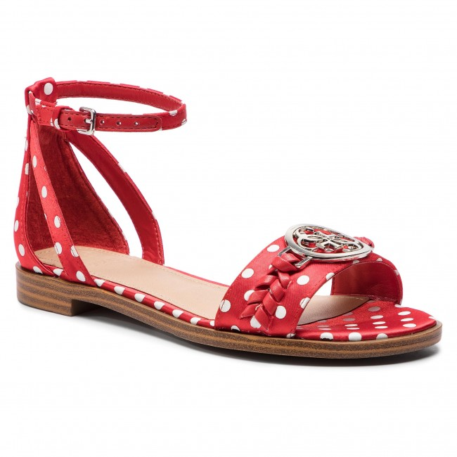 cefd6541a7a7 Sandals GUESS - Reake FL6RK3 FAP03 RED - Casual sandals - Sandals ...