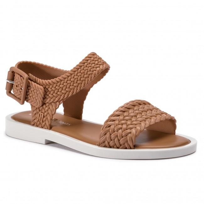 3bb0e697d Sandals MELISSA - Mar Sandal + Salinas A 32482 Brown White 50672 ...