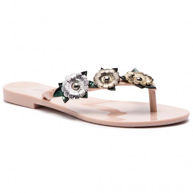 9bf51e3bb5e6 Slides MELISSA - Harmonic Garden Chrome 32611 Pink Green Silver ...
