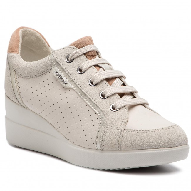 Sneakers GEOX - D Stardust A D5230A 08522 C1002 Off White - Sneakers ... 50671b4e150