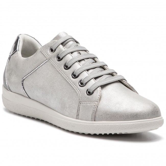 Sneakers GEOX - D Nihal C D827LC 0PVBC C0856 Off White Lt Grey ... 6749b2020ac